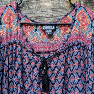 Angie Tops - NWOT Angie Boho Chic Flowy Lightweight Tunic Top